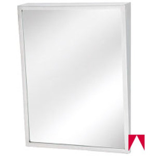 Ada Bathroom Mirror Height  Mirror Bradley Ada pliant Fixed Tilt 18 Inch X36