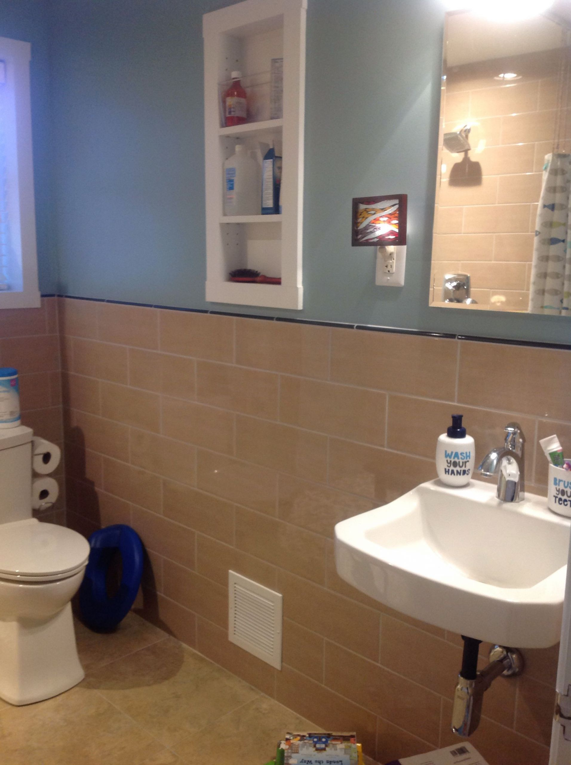Ada Bathroom Mirror Height  ADA sink and fort height toilet