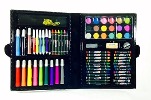 Art Kit For Toddlers  Art Materials and Craft Drawing Set 80 piece kit plus
