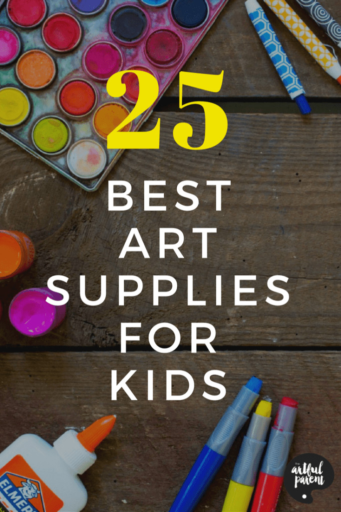 Art Kit For Toddlers  The 25 BEST Kids Art Materials and Where to Buy Them