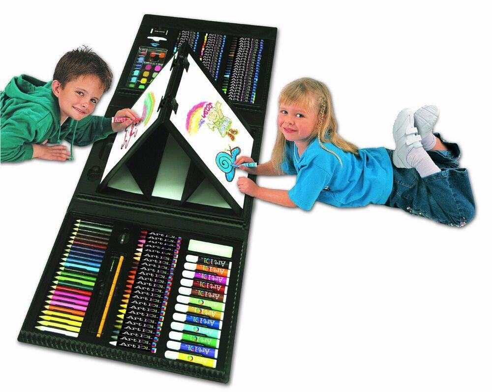 Art Kit For Toddlers  Art Set Kids Piece Drawing Artist Painting 101 Kit Case