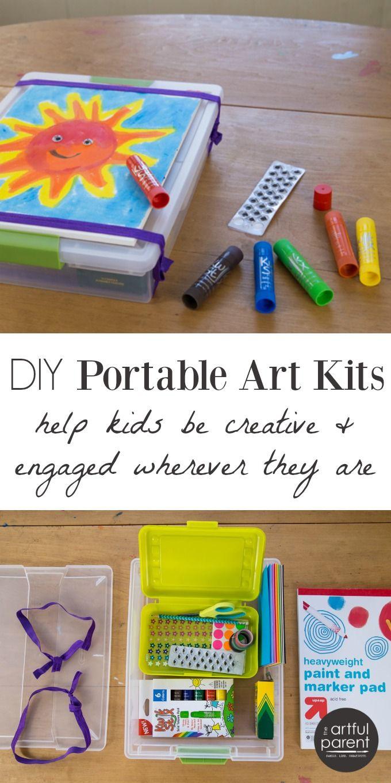 Art Kit For Toddlers  DIY Portable Art Kits for Kids
