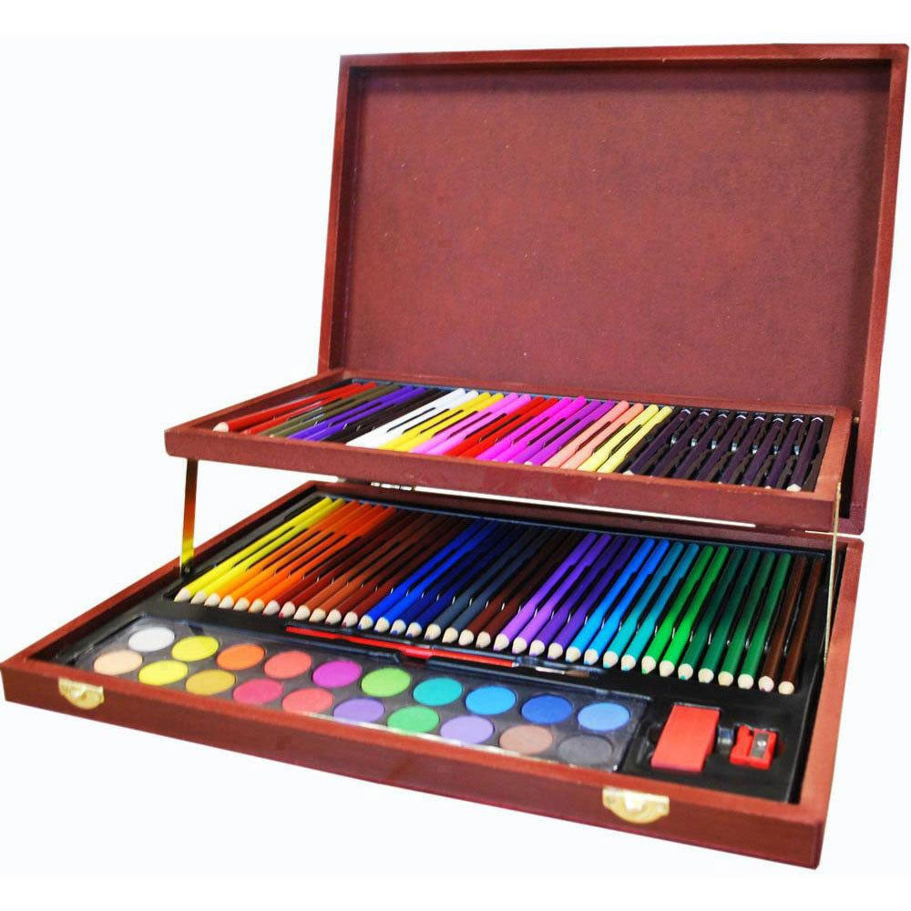 Art Kit For Toddlers  plete Colouring And Sketch Studio