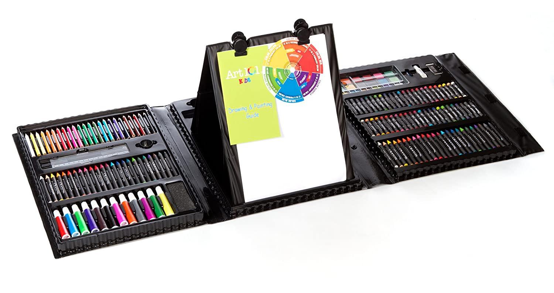 Art Kit For Toddlers  Art Set Kids Piece Drawing Artist Painting 154 Kit Case