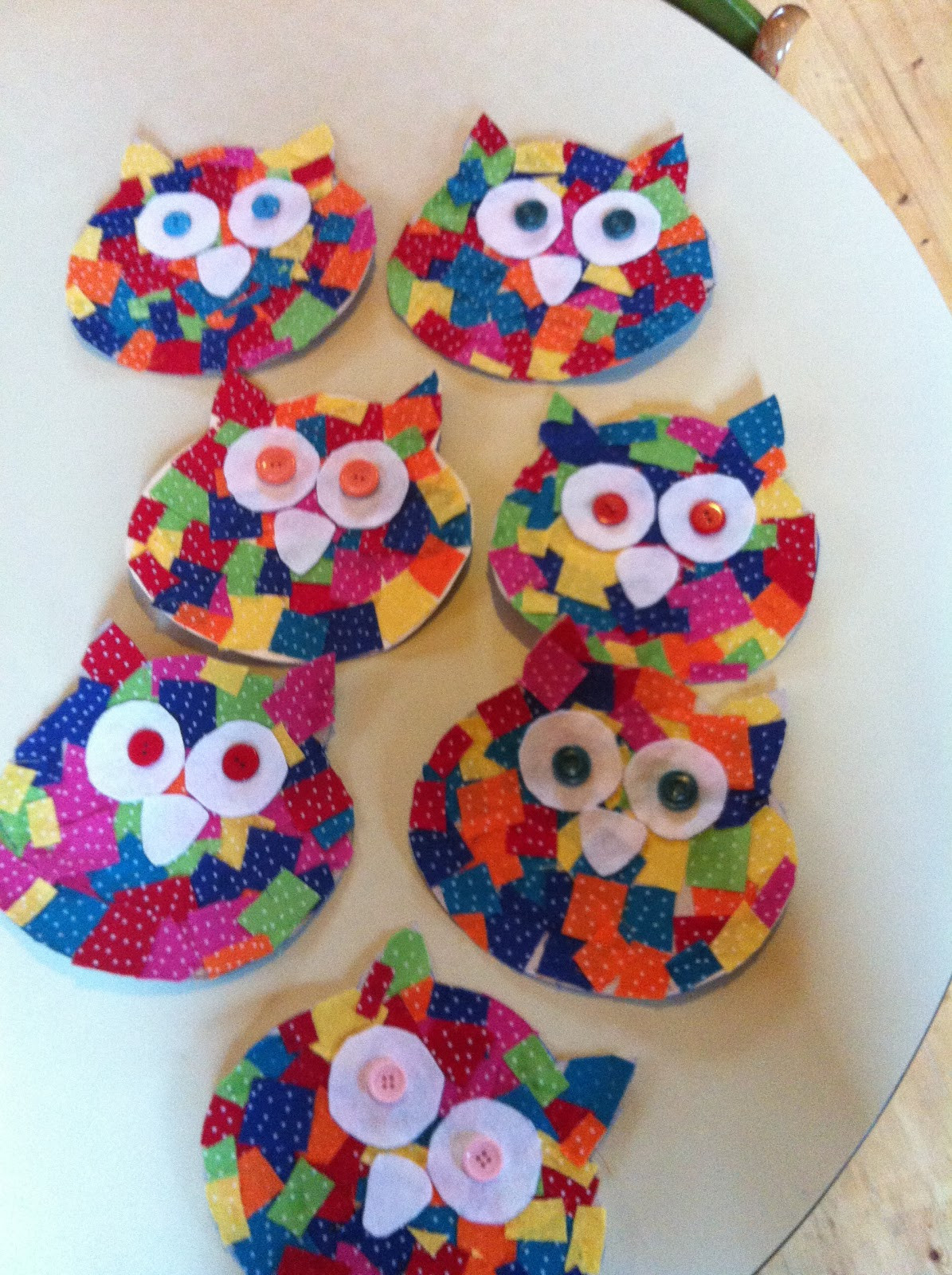 Arts And Crafts For Little Kids  The Guilletos Playful Learning Cute little owls