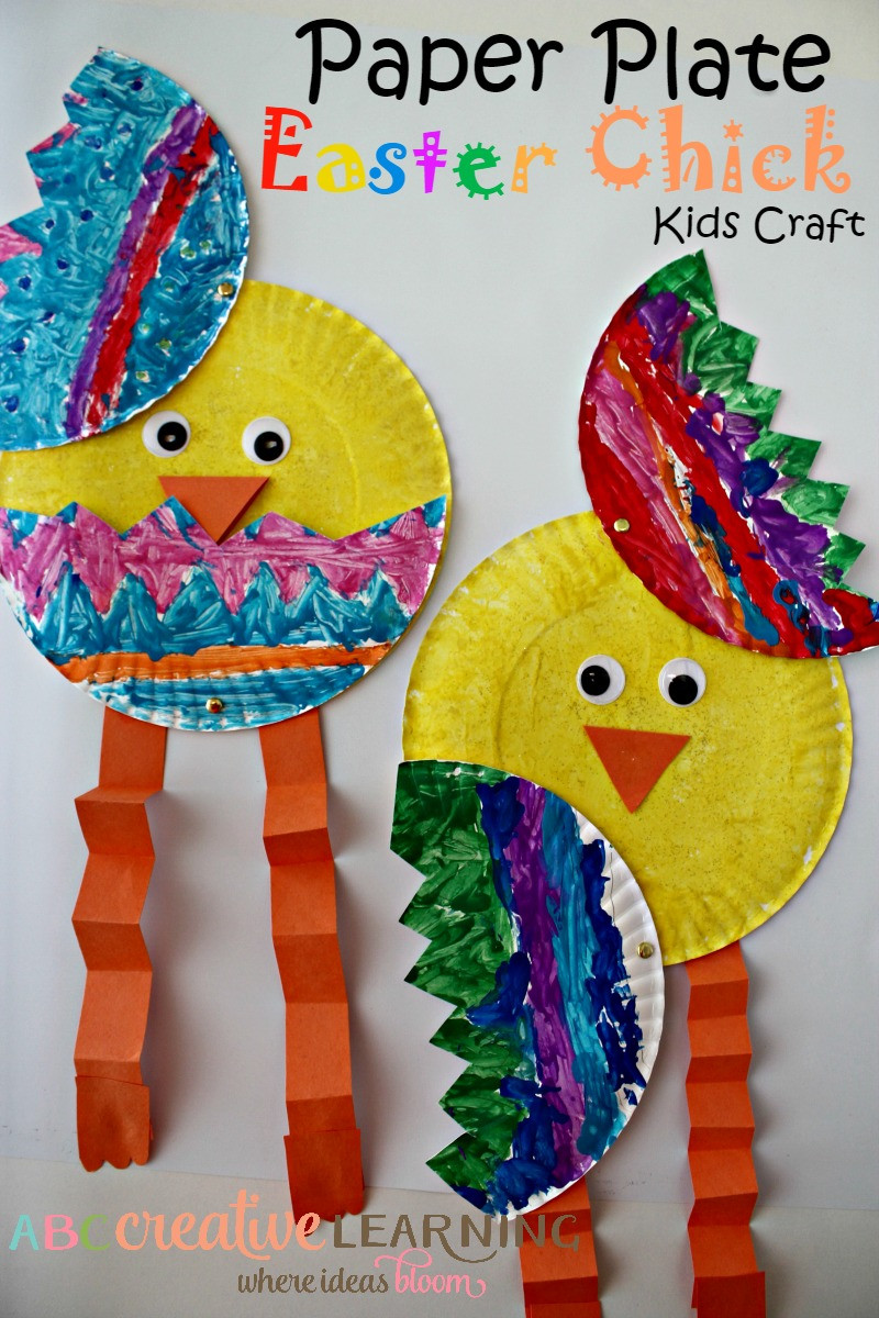 Arts And Crafts For Preschool  Over 33 Easter Craft Ideas for Kids to Make Simple Cute