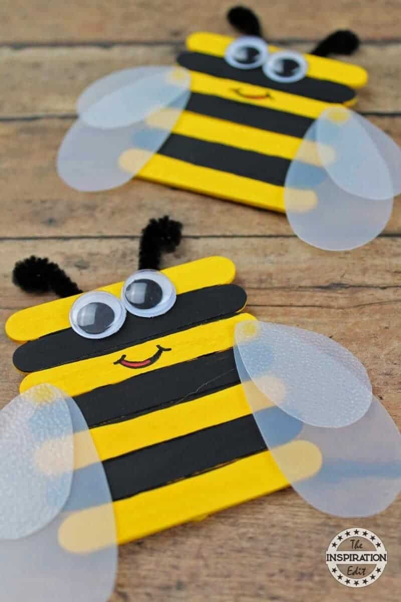Arts And Crafts For Preschool  51 Amazing Preschool Bug Crafts · The Inspiration Edit