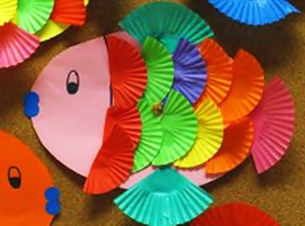 Arts And Crafts For Preschool  9 Unique Fish Craft Ideas For Kids and Toddlers