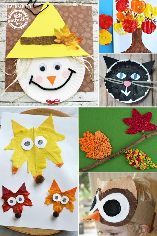 Arts And Crafts For Preschool  24 Fantastic Fall Crafts Your Preschooler Will Love