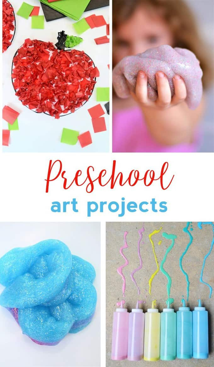 Arts And Crafts For Preschool  PRESCHOOL ART PROJECTS EASY CRAFT IDEAS FOR KIDS