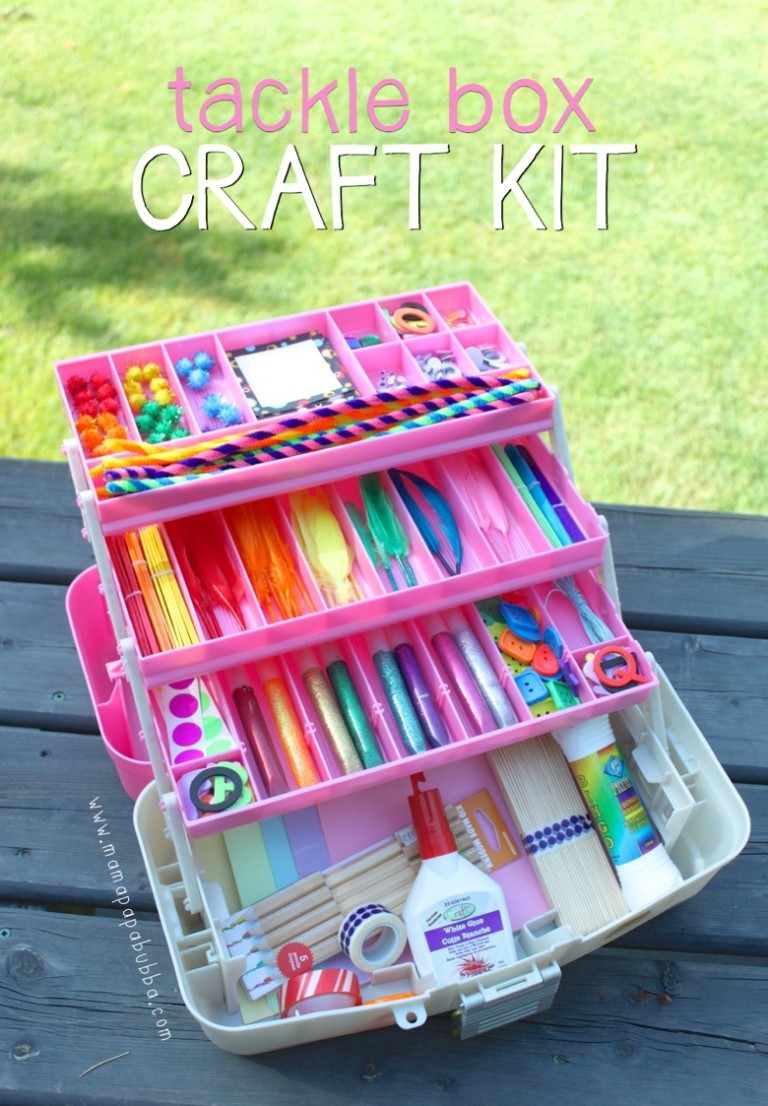Arts And Crafts Sets For Kids  20 DIY Craft Kits for Kids [ t ideas] – Tip Junkie