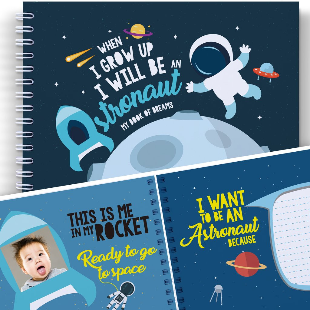 Astronomy Gifts For Kids  SPACE AND SCIENCE BOOK FOR KIDS When I Grow Up I Will Be