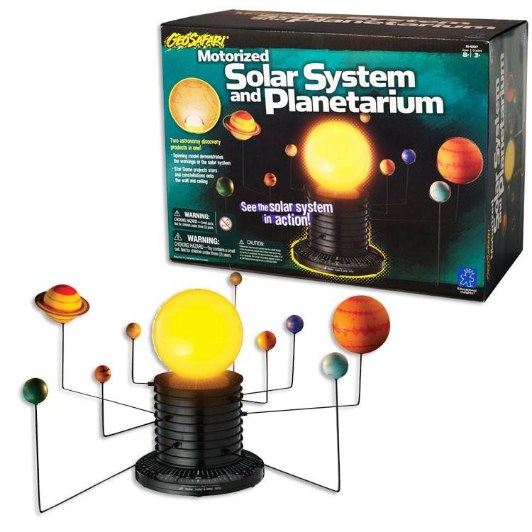 Astronomy Gifts For Kids  GeoSafari Motorized Solar System Educational Toys Planet