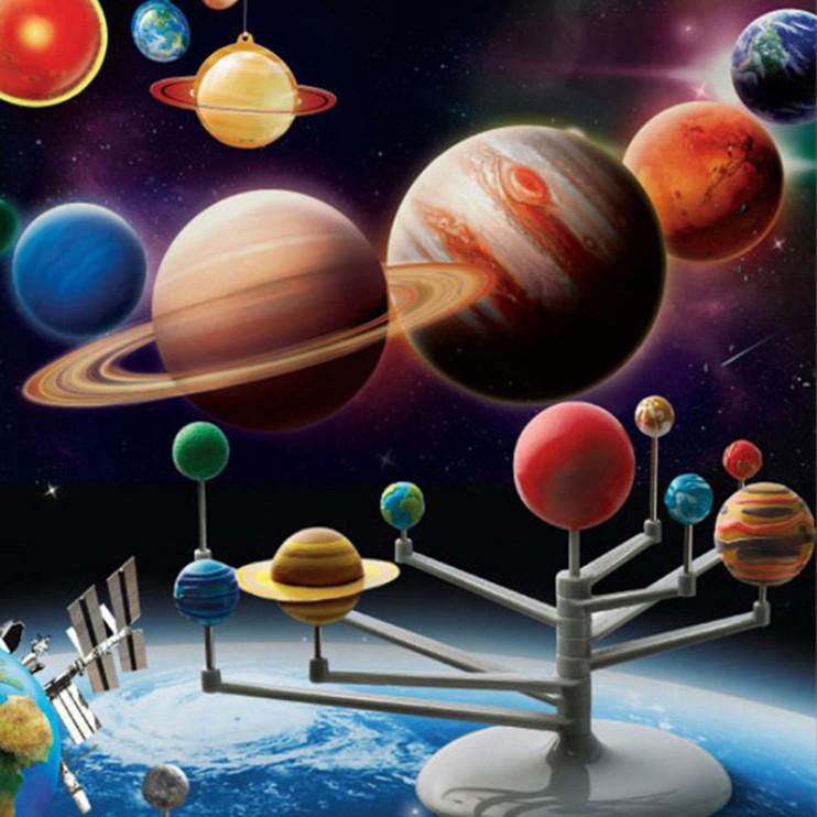 Astronomy Gifts For Kids  Solar System Planetarium Model Kit Astronomy Science