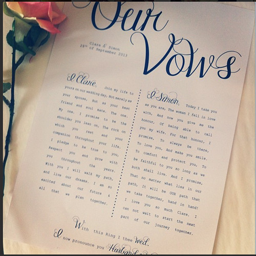 Awesome Wedding Vows  11 Awesome And Best Wedding Vows For Your Big Day Awesome 11