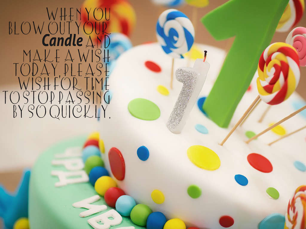 Baby 1St Bday Quotes  1st Birthday Wishes and Greetings for Baby Boy and Baby