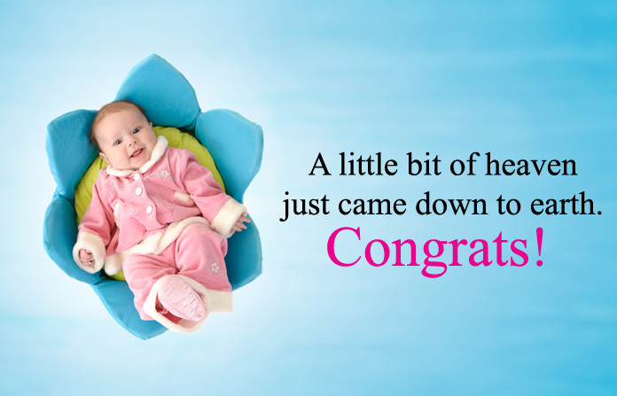 Baby Born Quote  Well Wishes & Congratulation Message for New Born Baby