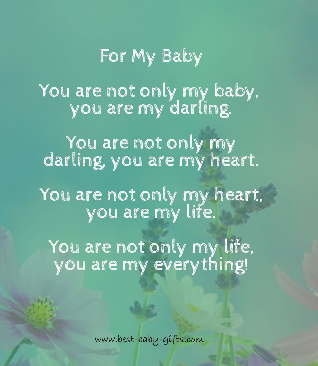Baby Poetry Quotes  Newborn Quotes inspirational and spiritual baby verses