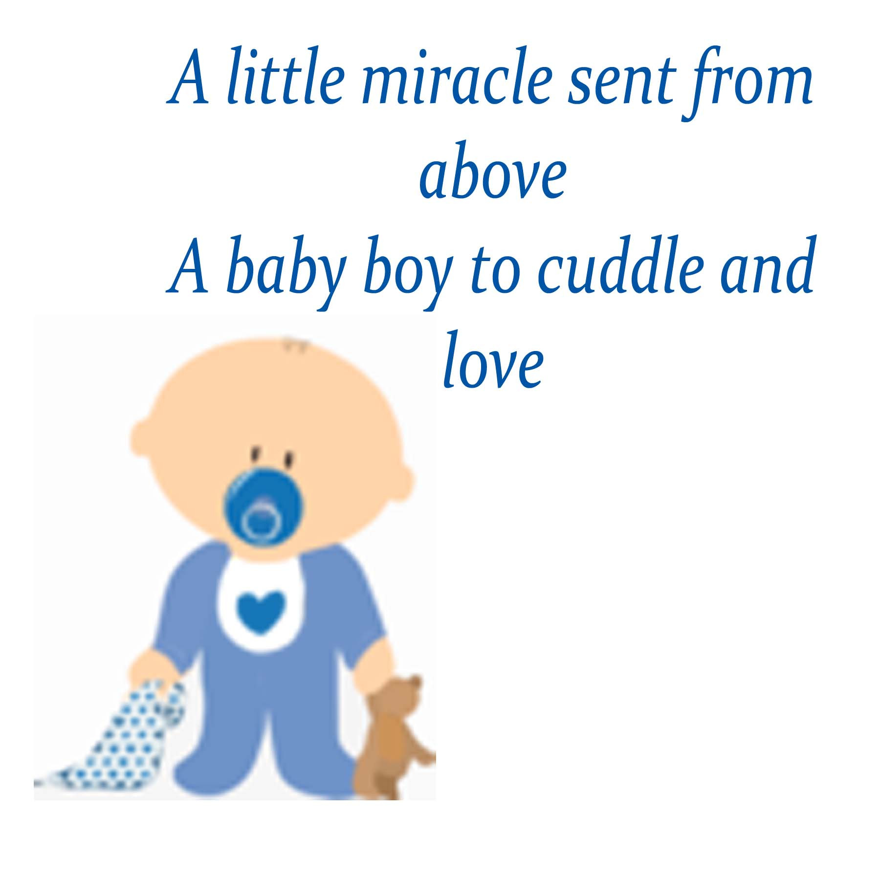 Baby Poetry Quotes  Baby boy poems for baby shower