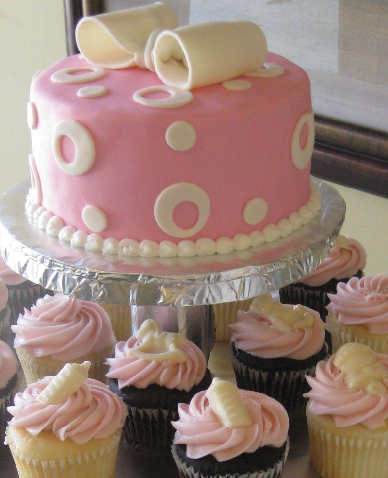 Baby Shower Cake Recipe  simple homemade baby shower cakes for girls RECIPES