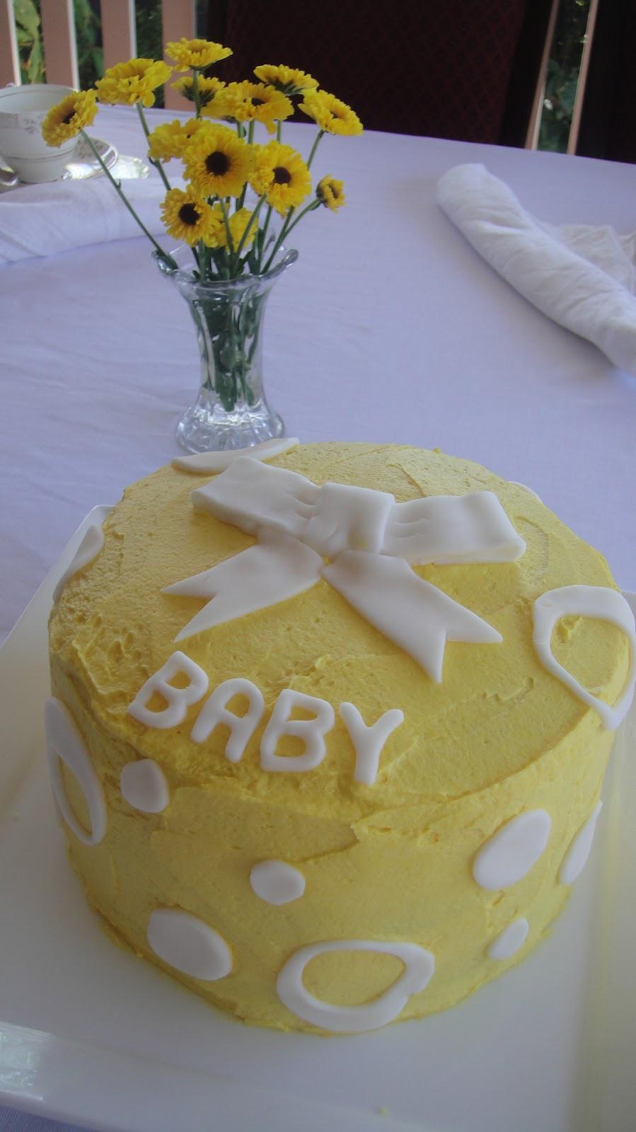 Baby Shower Cake Recipe  Mums in the Kitchen Baby Shower Cake