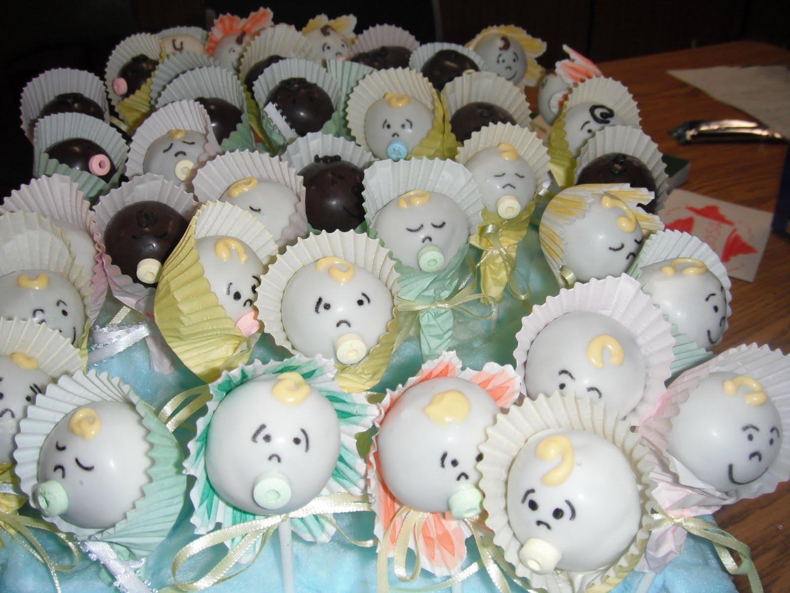 Baby Shower Cake Recipe  Mrs 4444 Cooks Baby Shower Cake Pops