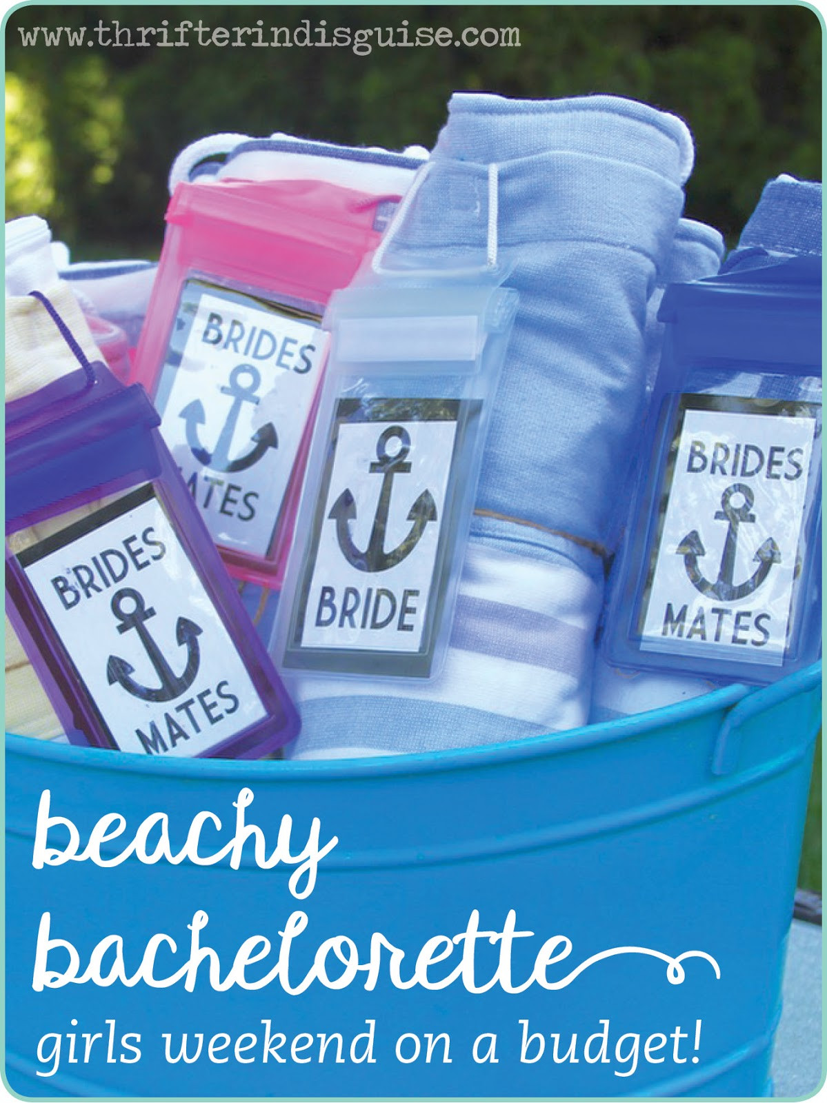 Bachelorette Party Beach Ideas  A Thrifter in Disguise Beach Bachelorette Party DIY Ideas