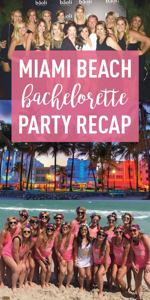 Bachelorette Party Beach Ideas  Miami Bachelorette Party Guide Cheers Beaches – Stag & Hen