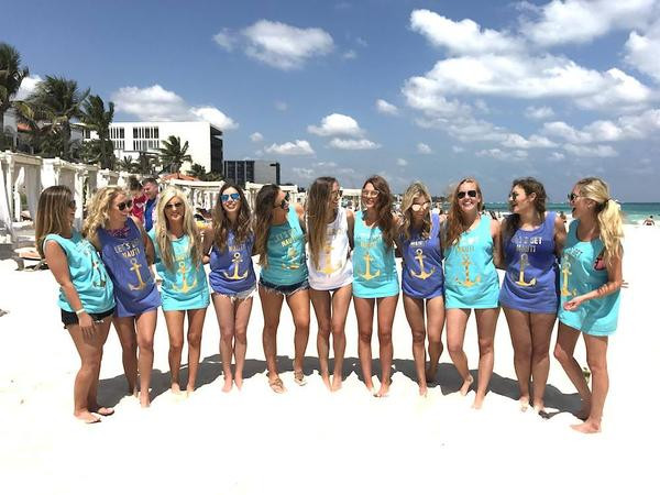 Bachelorette Party Beach Ideas  18 Totally Adorable Bachelorette Party Outfits – Stag & Hen
