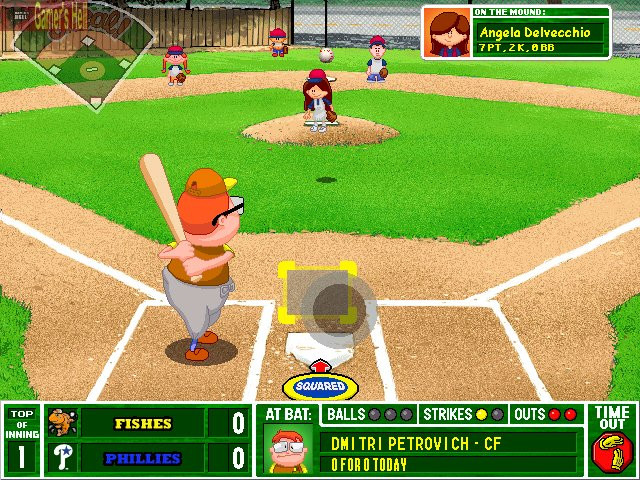 Backyard Baseball Computer Game  Backyard Baseball 2003 Full Version Games Download