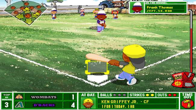 Backyard Baseball Computer Game  Backyard Baseball 2003 Game Free Download