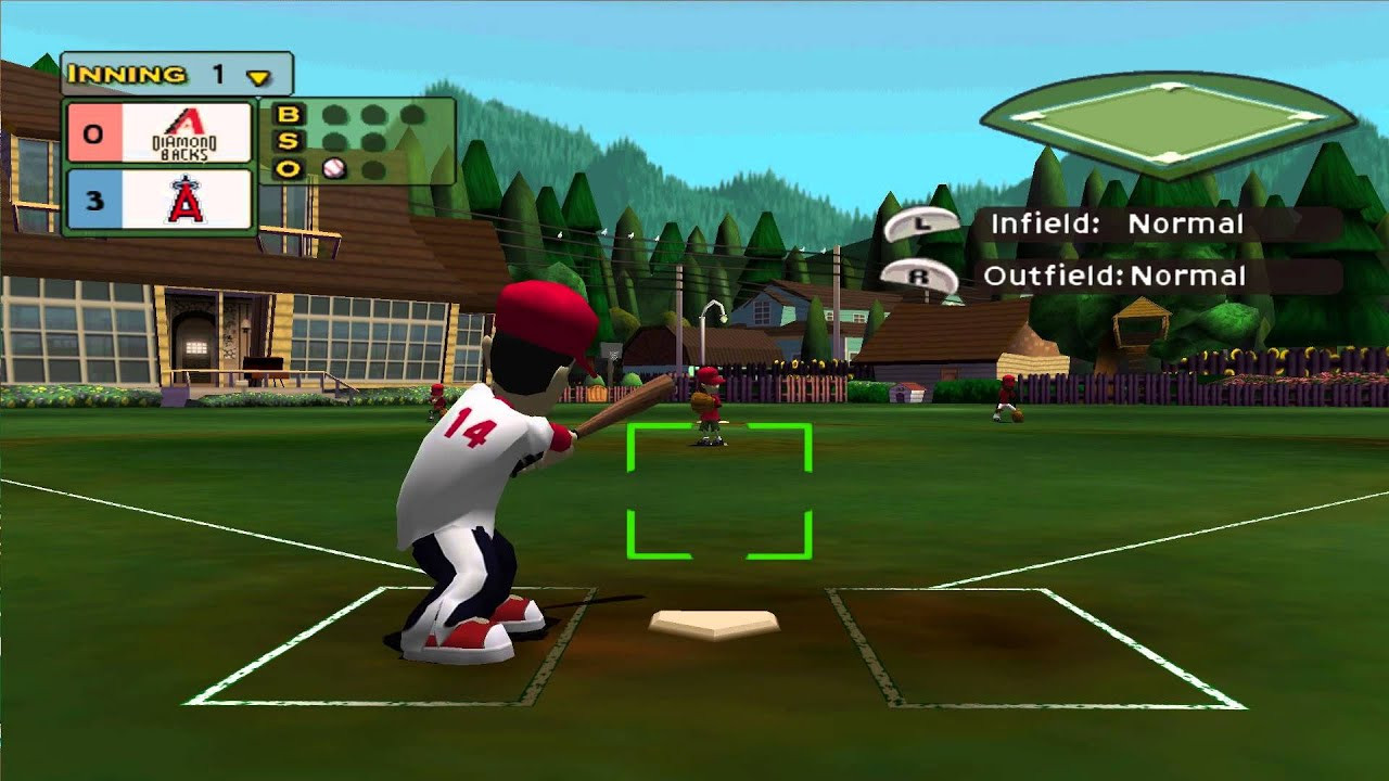 Backyard Baseball Computer Game  Dolphin Emulator 4 0 2
