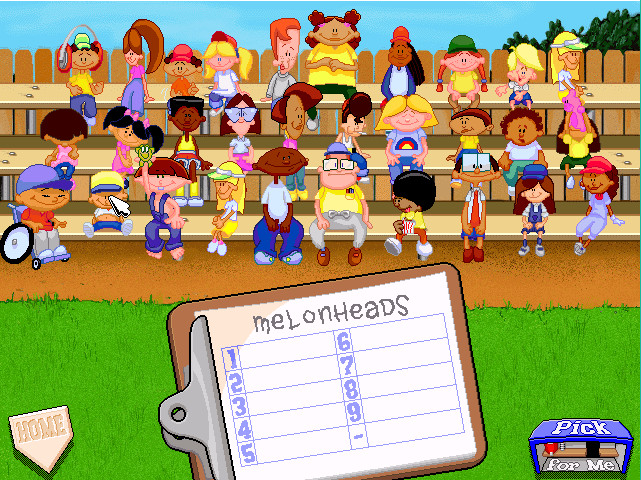 Backyard Baseball Computer Game  Backyard Baseball 97 was the first video game I owned