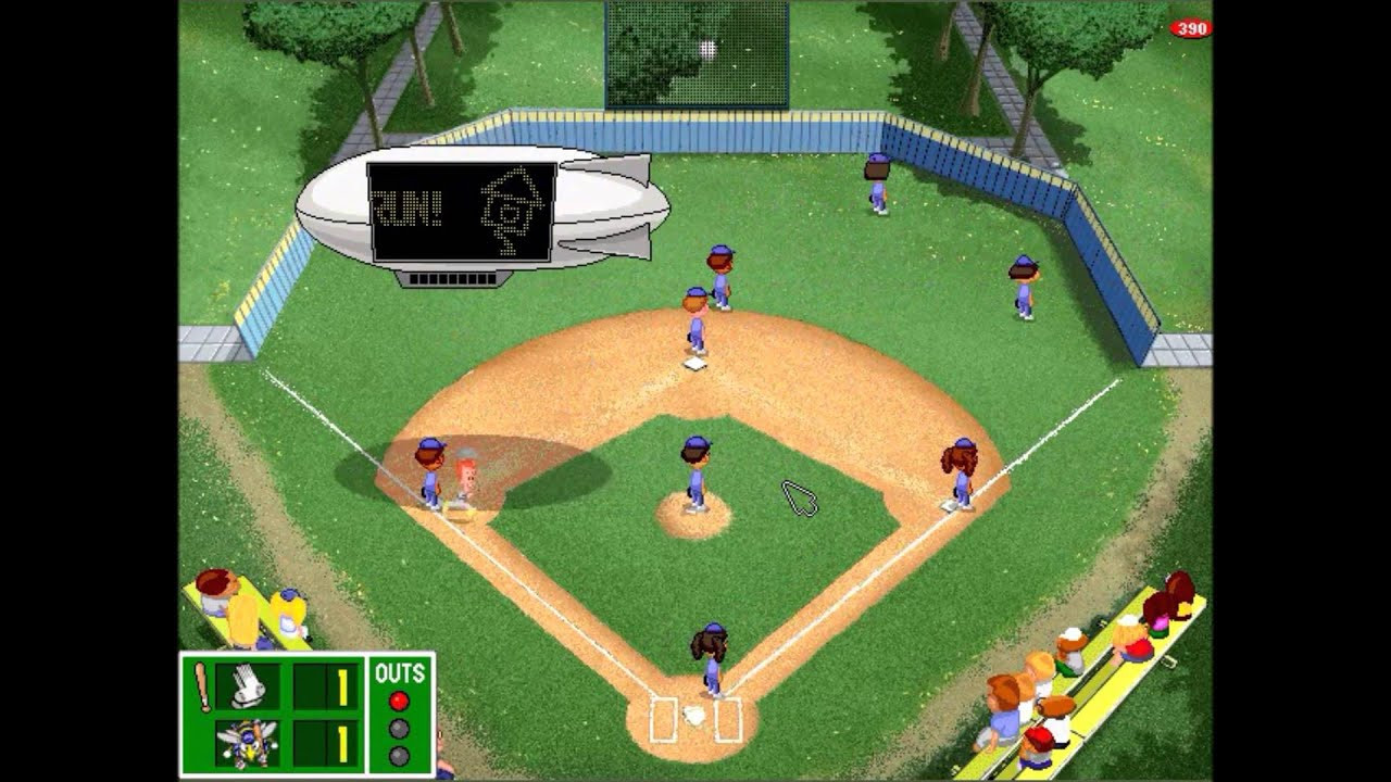 Backyard Baseball Computer Game  Backyard Baseball League PC Tournament Game 3 PETE THE