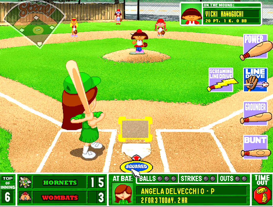 Backyard Baseball Computer Game  Backyard Baseball 2001 Download Game