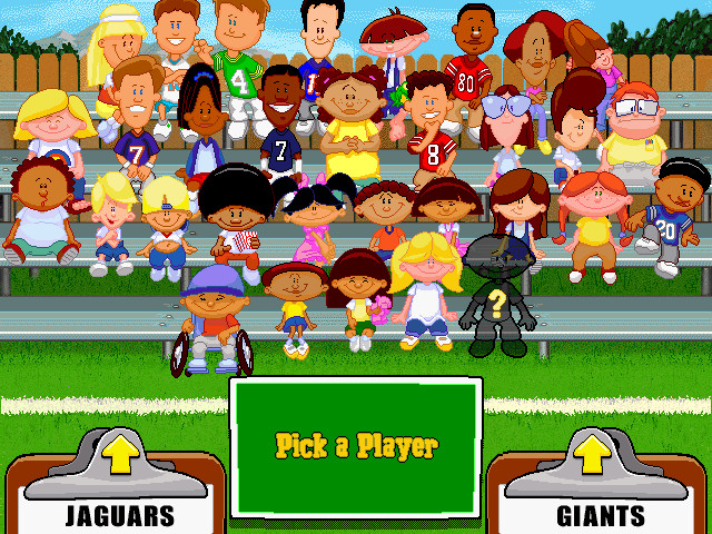 Backyard Baseball Computer Game  Backyard Football Screenshots for Windows MobyGames
