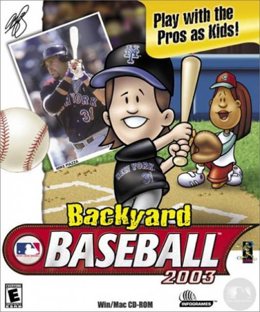 Backyard Baseball Computer Game  Backyard Baseball 2003 Game Giant Bomb