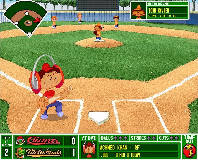 Backyard Baseball Computer Game  ITT The best puter game from your childhood serious