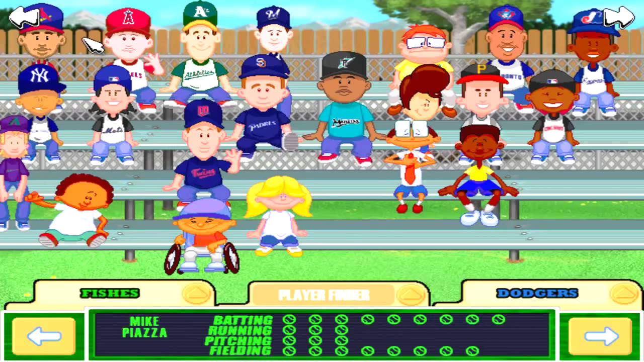 Backyard Baseball Computer Game  Backyard Baseball 2003 Download Game