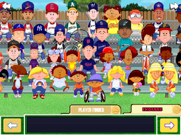 Backyard Baseball Computer Game  Musings Backyard Baseball Draft