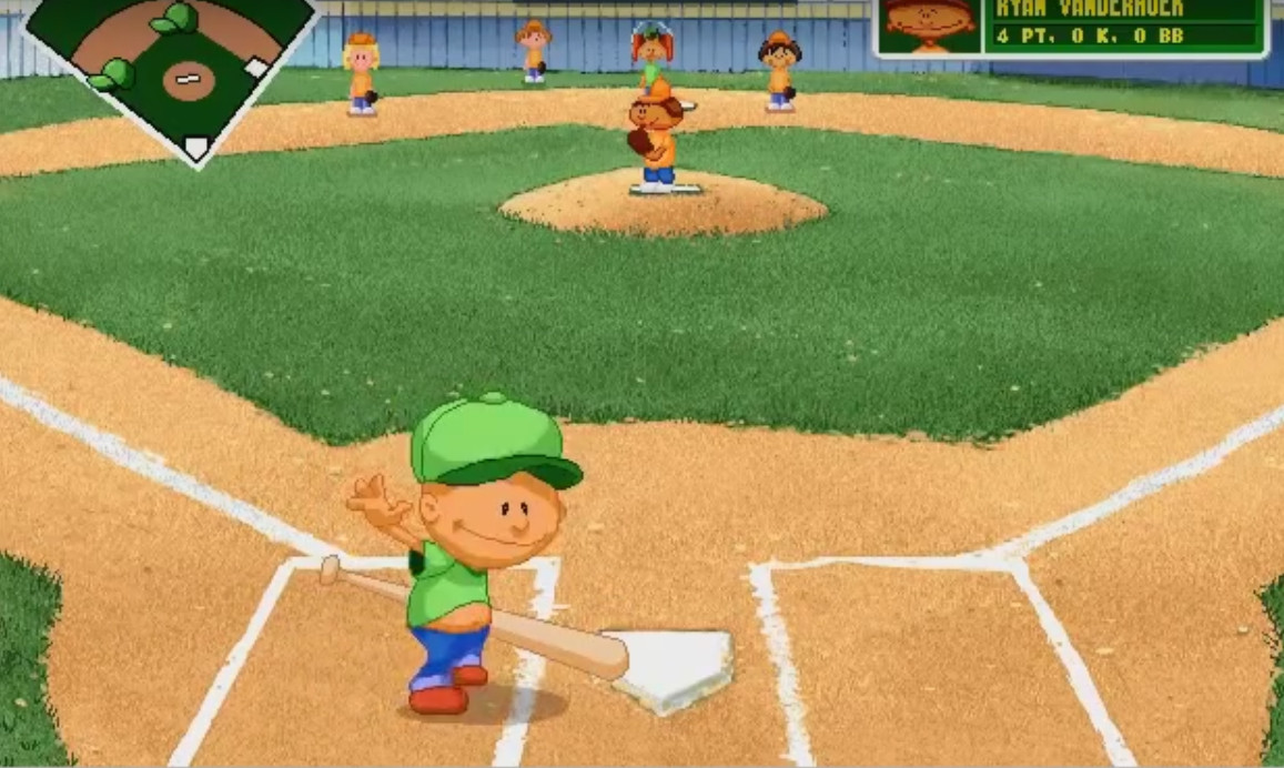 Backyard Baseball Computer Game  Pablo Sanchez The Origin A Video Game Legend