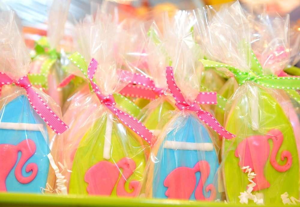 Barbie Beach Party Ideas  Nautical Beach Theme Birthday Party Ideas