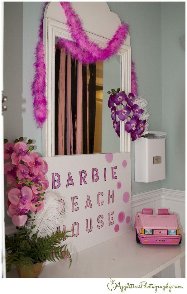 Barbie Beach Party Ideas  Barbie Beach Bachelorette Bash Appletini graphy