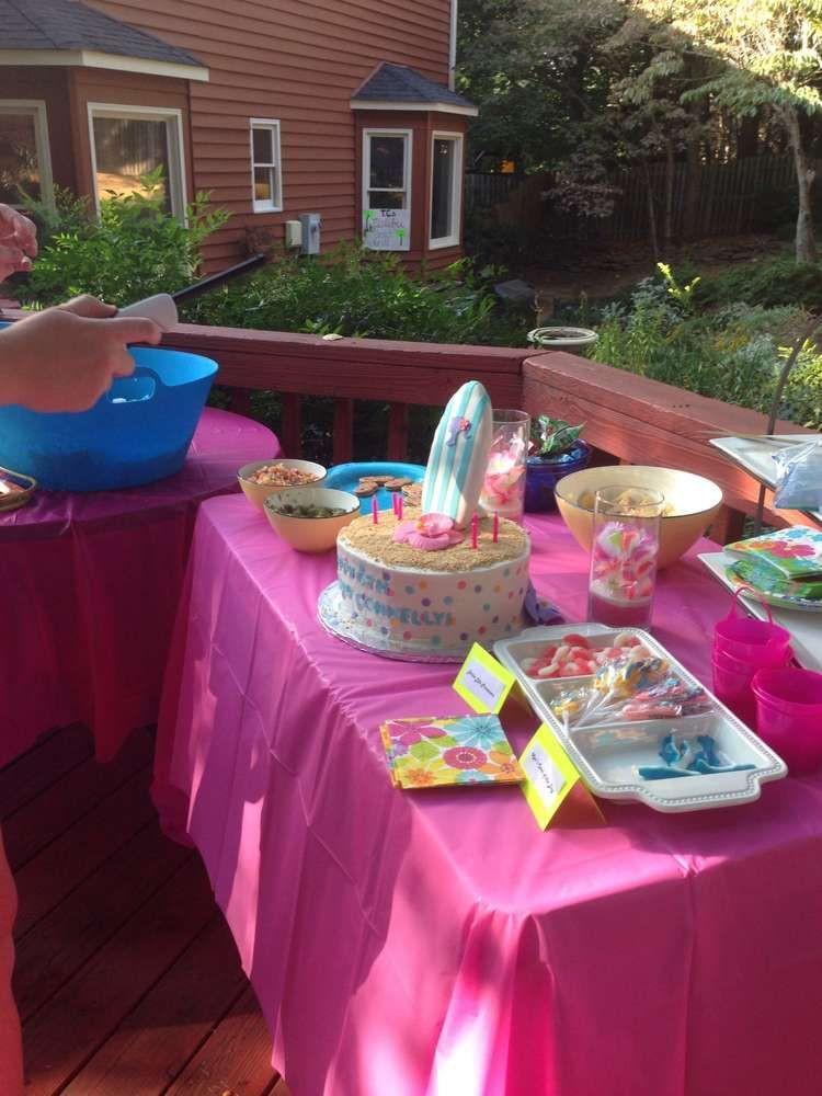 Barbie Beach Party Ideas  Barbie Malibu Beach 6th Birthday Party