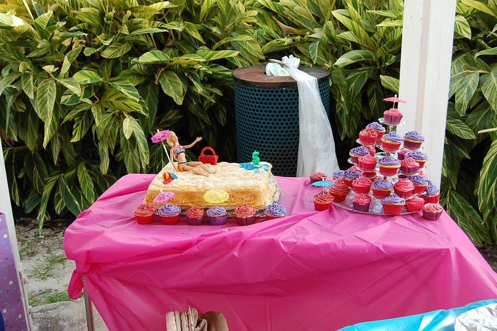 Barbie Beach Party Ideas  Barbie Beach Theme Birthday Party Ideas