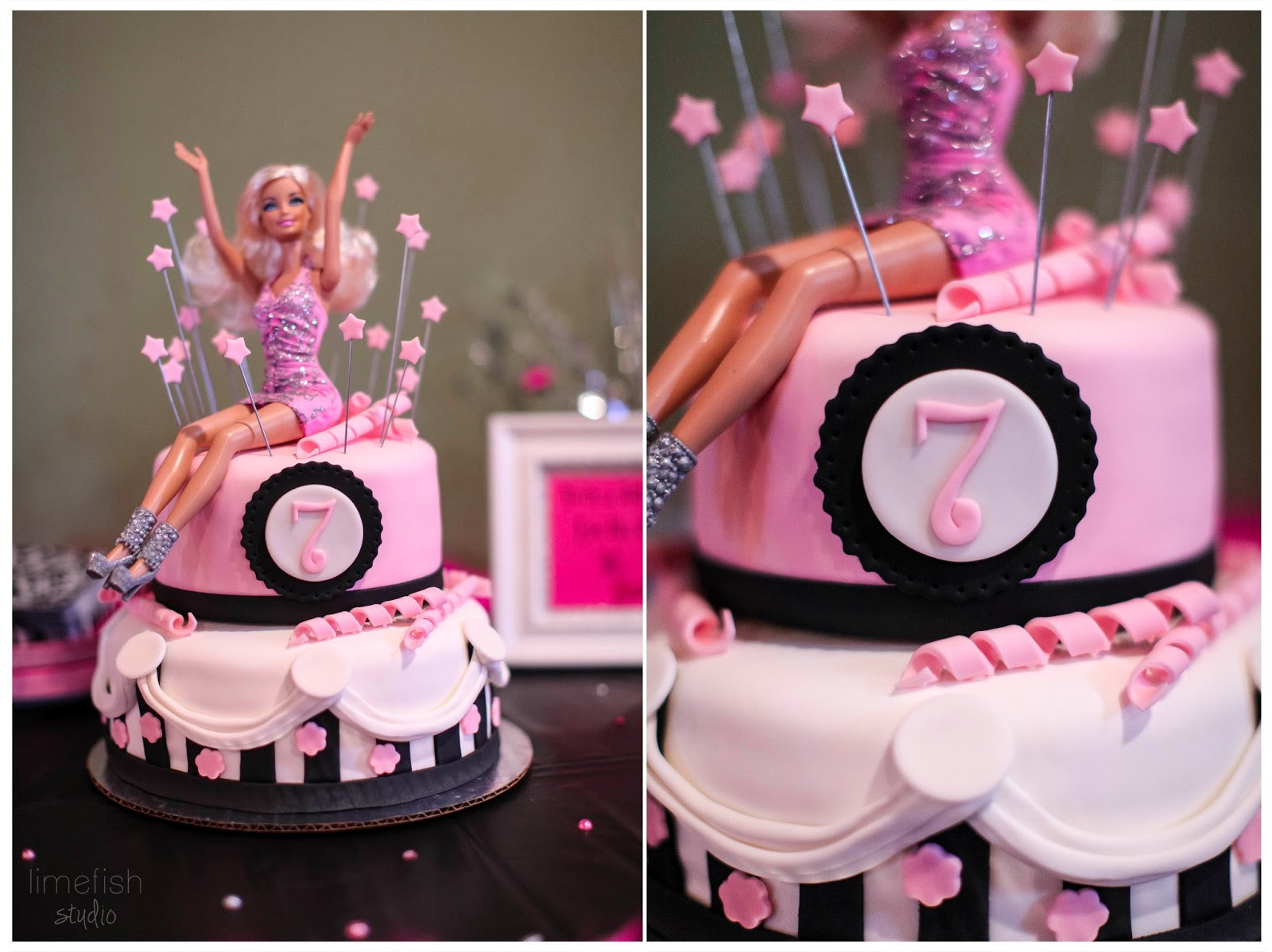 Barbie Beach Party Ideas  Pink Barbie Birthday Party s