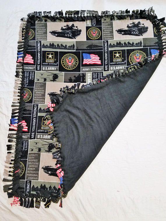 Basic Training Graduation Gift Ideas  Army Blanket Military Decor Basic Training Gift Throw