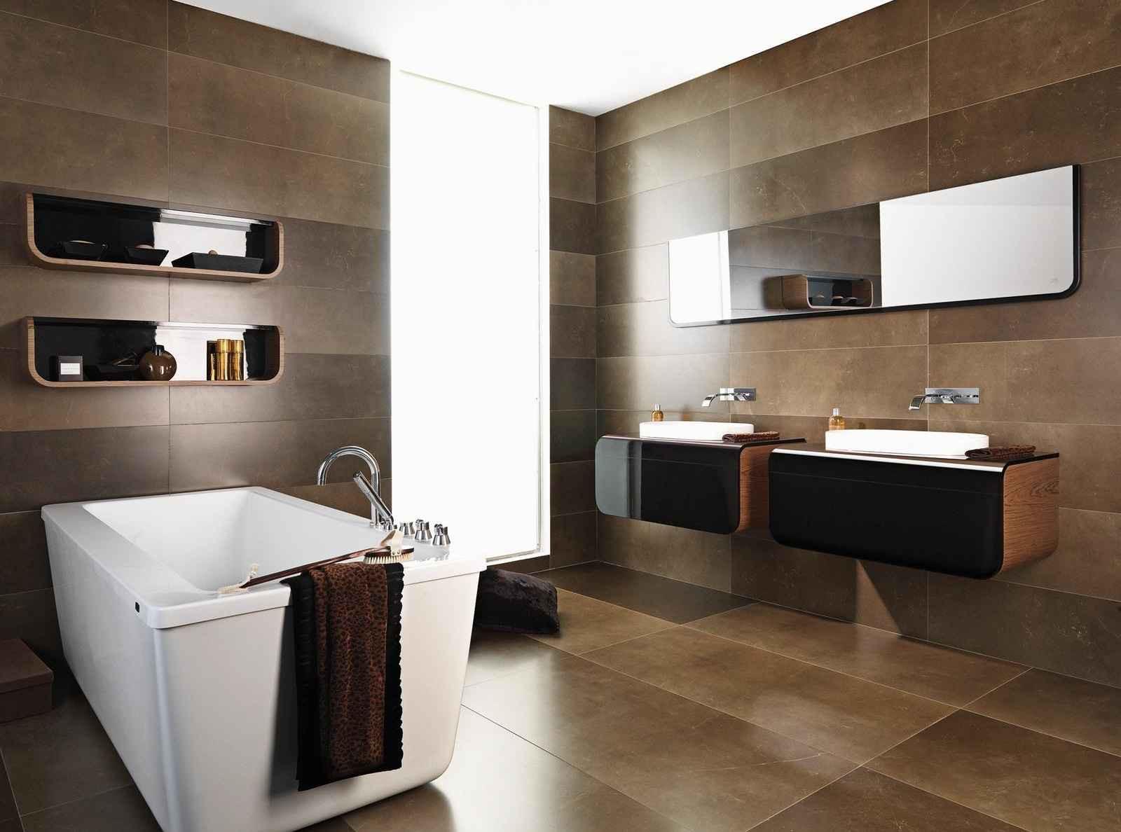 Bathroom Ceramic Floor Tile Ideas  27 wonderful pictures and ideas of italian bathroom wall