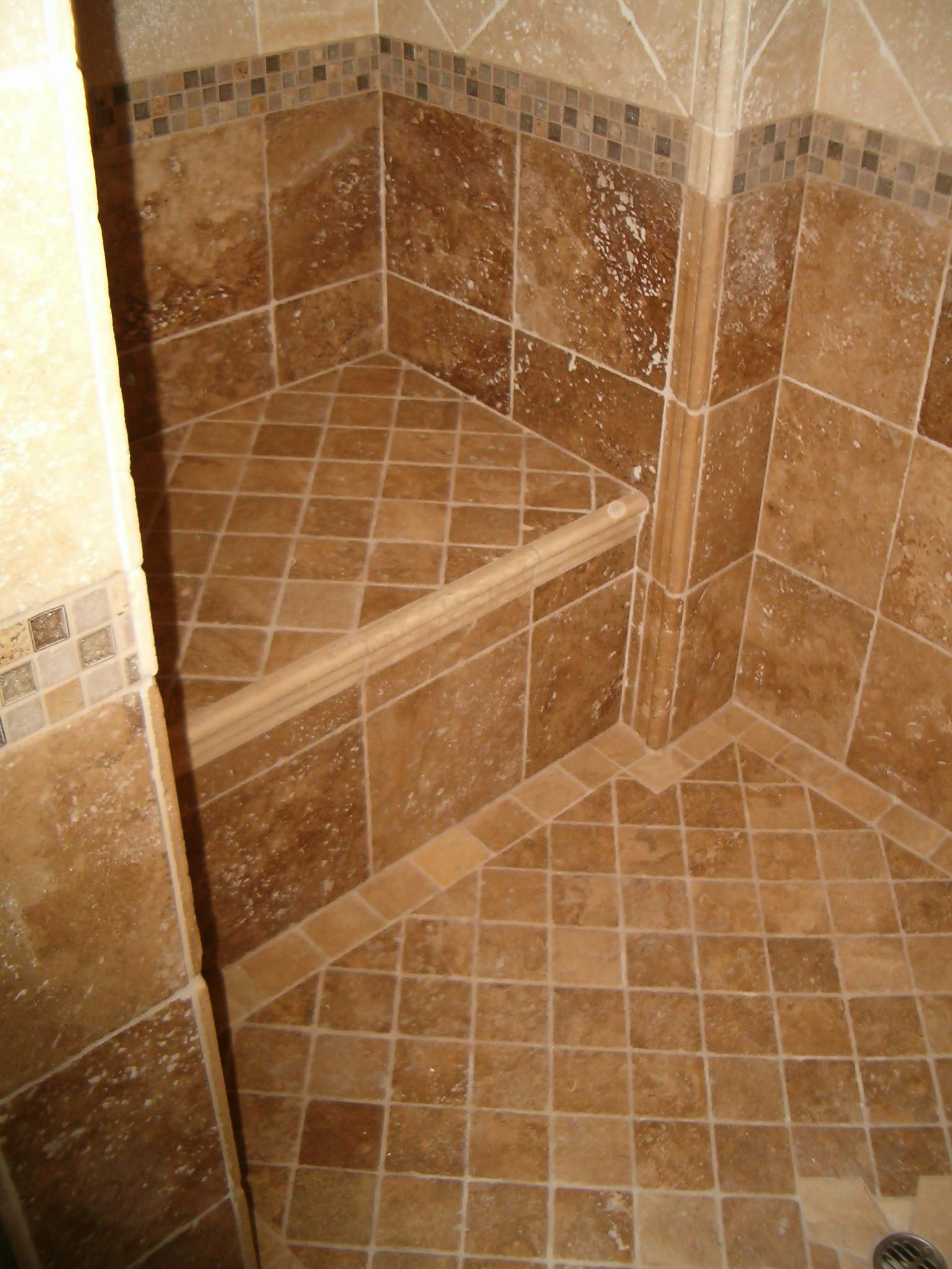 Bathroom Ceramic Floor Tile Ideas  25 wonderful ideas and pictures ceramic tile murals for