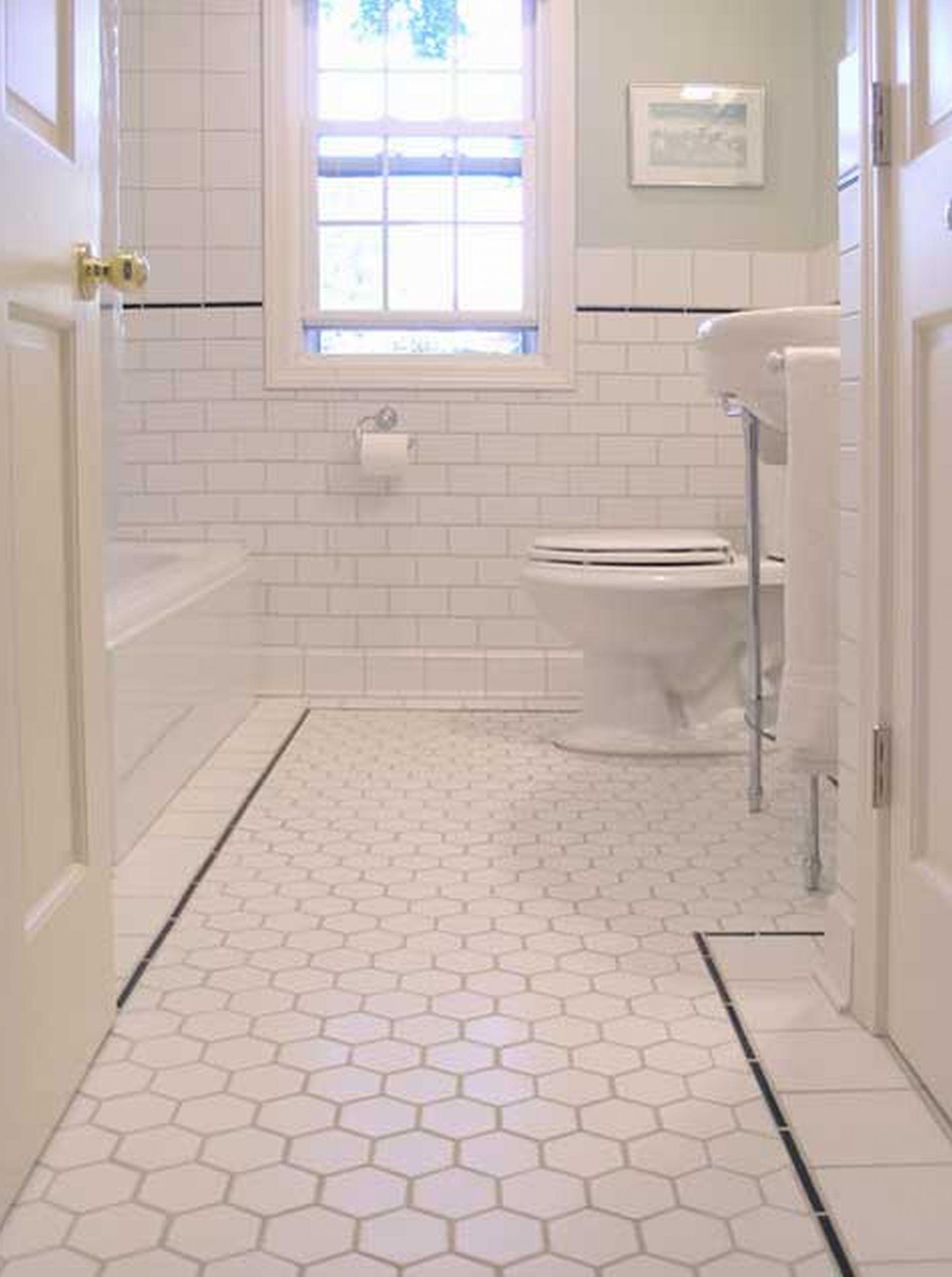Bathroom Ceramic Floor Tile Ideas  36 nice ideas and pictures of vintage bathroom tile design
